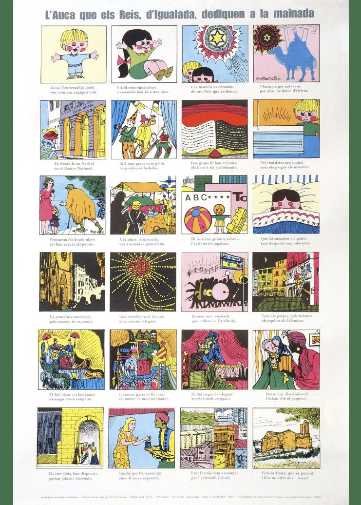 Auca Reis d'Igualada 1972