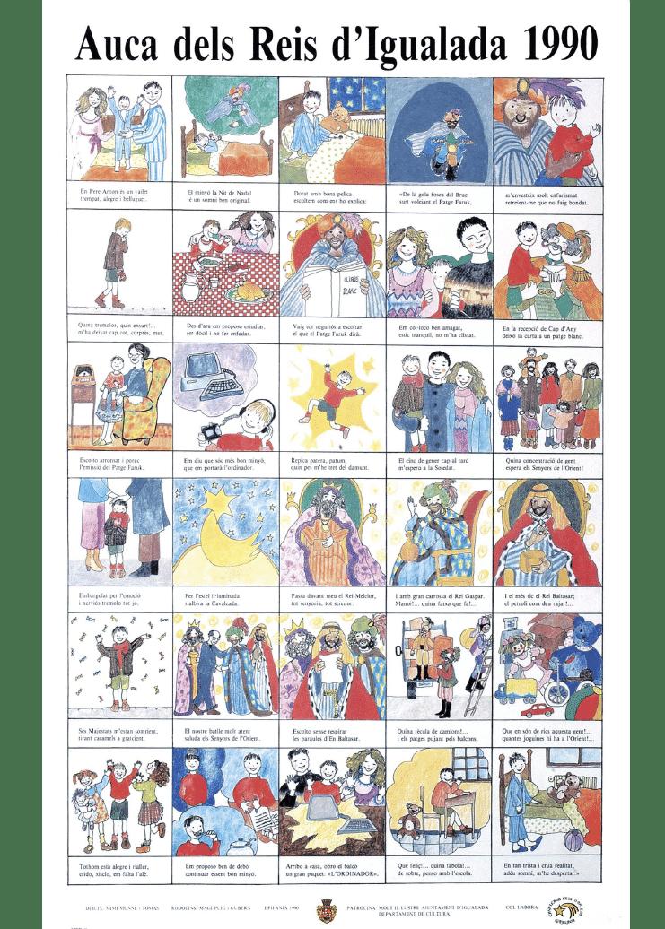Auca Reis d'Igualada 1990