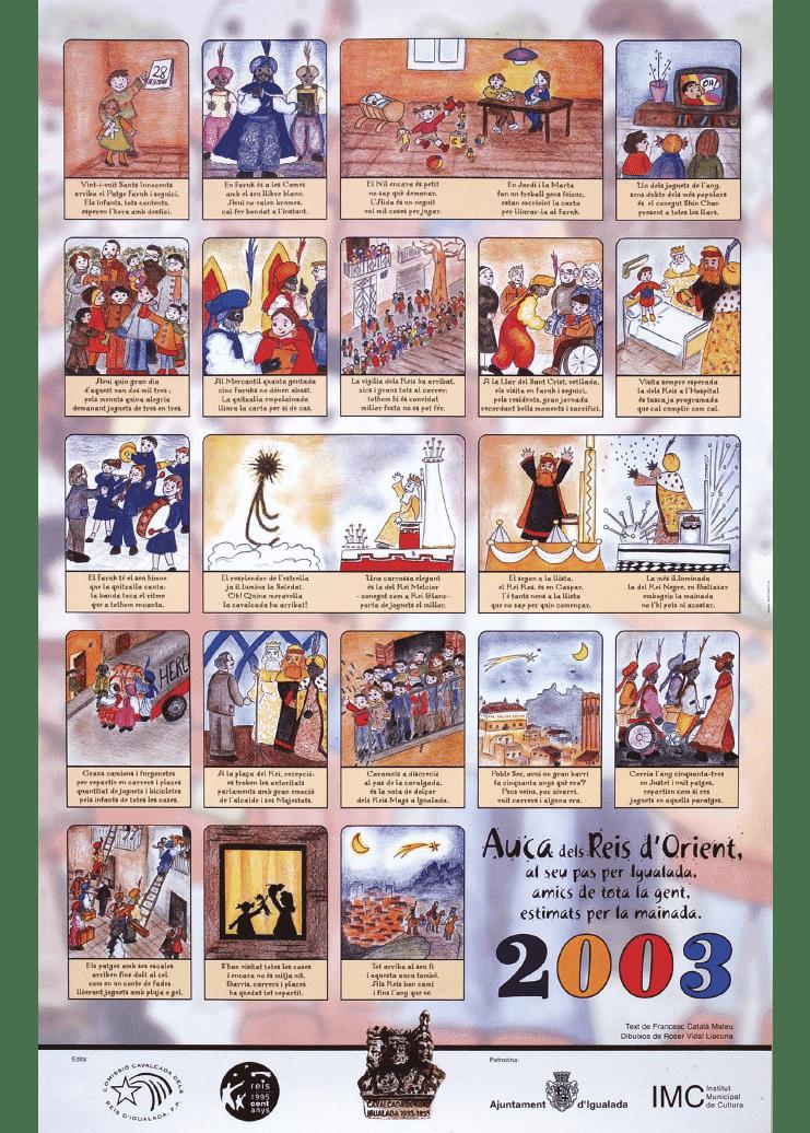 Auca Reis d'Igualada 2003