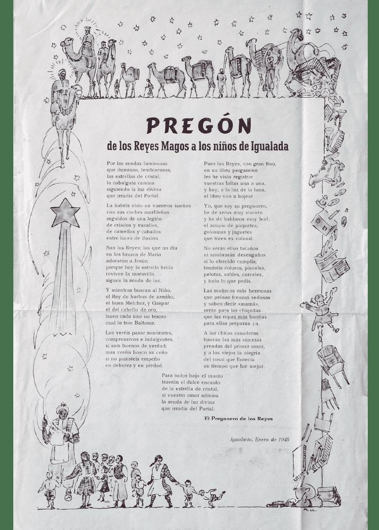 Crida Reis d'Igualada 1945