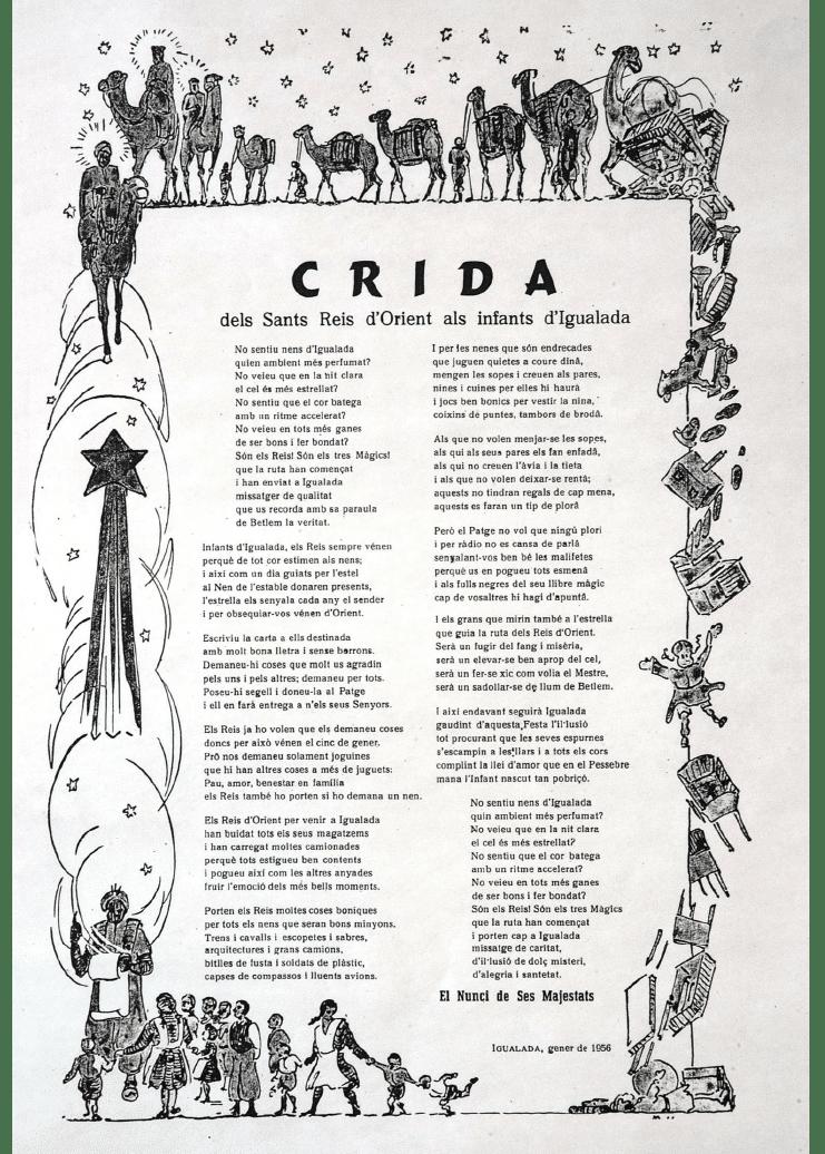 Crida Reis d'Igualada 1956