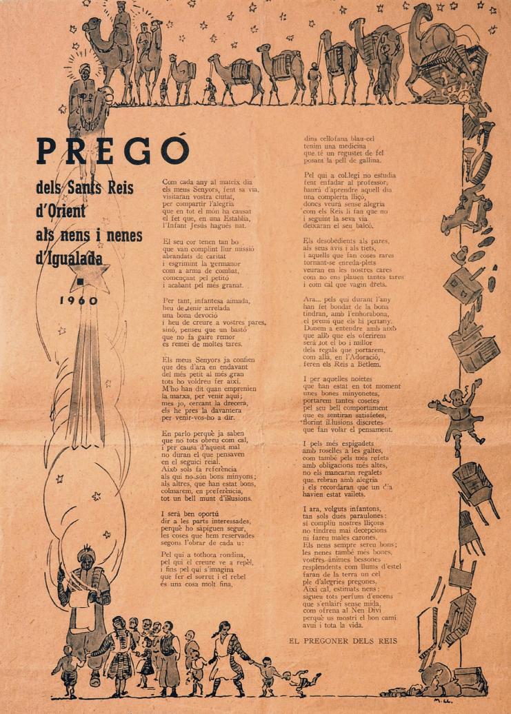 Crida Reis d'Igualada 1960