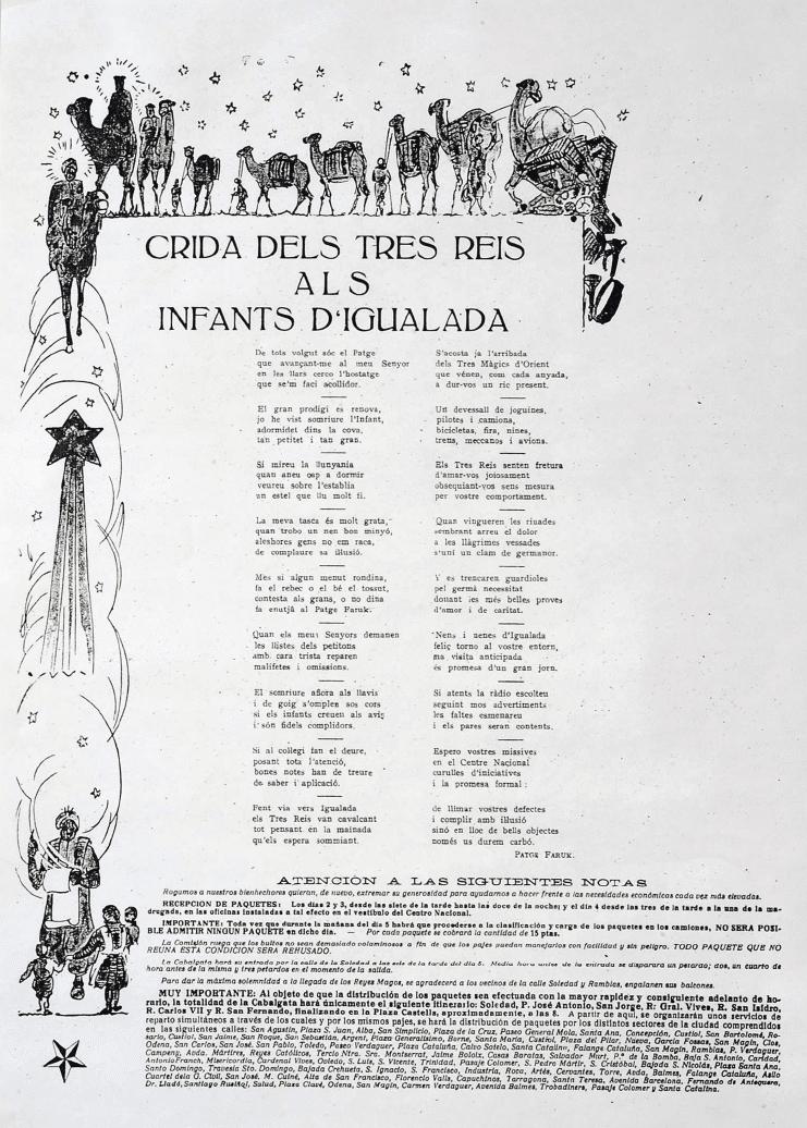 Crida Reis d'Igualada 1963